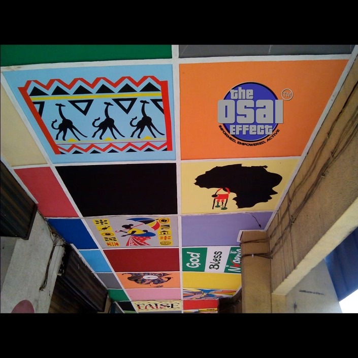 Ceiling Mural The Osai Effect 12